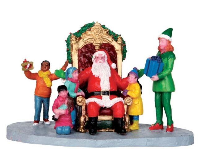 "LEMAX 43077 ""MERRY CHRISTMAS TO ALL"" Neu Weihnachtsdorf Winterdorf Modellbau"