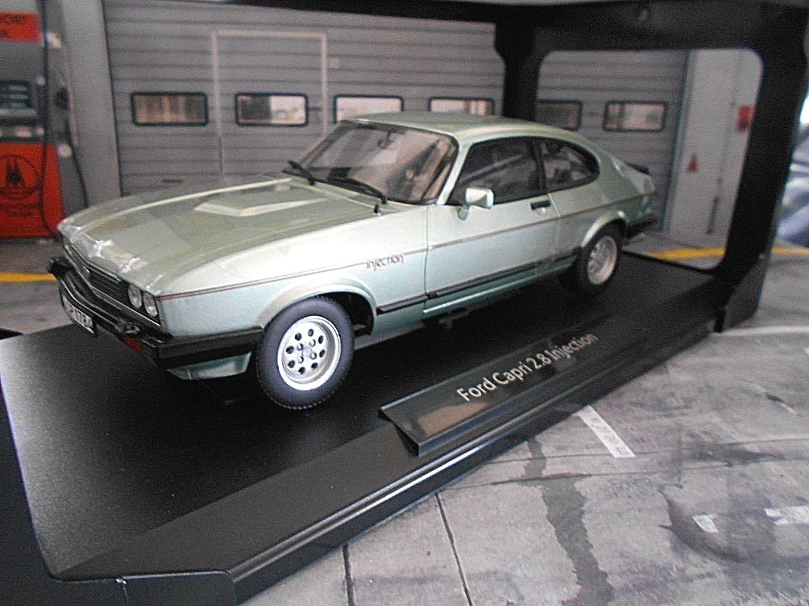 Ford Capri 3 MkIII 2.8i 2.8 injection Coupe Crystal verde verde m 1982 norev 1 18
