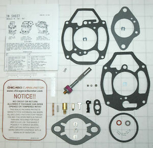 Details about 1932-62 CARB KIT ROCHESTER B/BC 1 BARREL CHEVY & GMC TRUCKS  216 235 261
