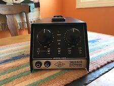 Universal Audio SOLO 610 Classic Vacuum Tube Mic Pre / DI Box