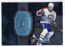 MARK RECCHI 1998-99 UD SPX FINITE Rare ERROR Hologram CHECK ODD BALL SP