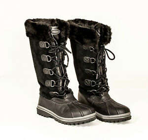 EUC-Abound-Leather-Waterproof-Boots-US-Womens-10M