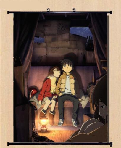 Boku Dake ga Inai Machi Kayo Hinazuki Anime Poster Home Decor Wall Scroll60*90cm