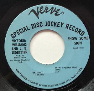 Northern Soul RARE 45 Victoria Williams J.B. Ledbetter Verve Lbl. MINT PROMO   eBay