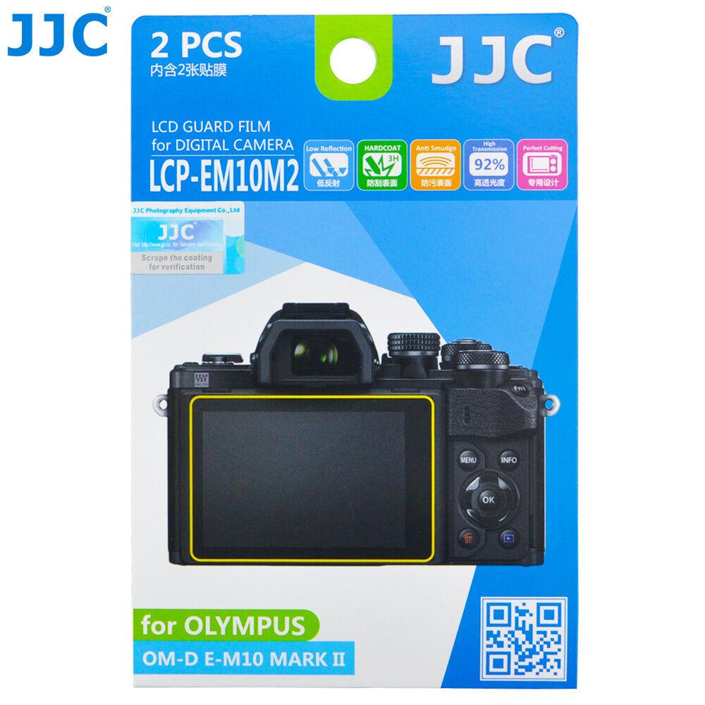 2Pcs JJC LCD Screen Protector Film fr OLYMPUS E-M1 Mark III II E-M1X E-PL9 E-PL8