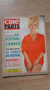 Cine-Paris-N-101-1966-Todos-En-Siglo-Xx-Festival-De-Cannes-Brigitte