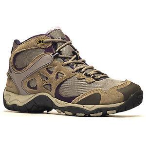 Senoras-para-mujer-Hi-Tec-Cuero-caminar-senderismo-Impermeable-formadores-Botas-Zapatos-Talla