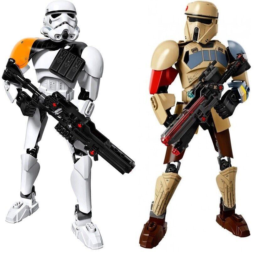 Lego Star Wars 75523 Scarif Stormtrooper Buildable Figure NIB 2017 Free Shipping