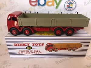 DIE-CAST-034-FODEN-DIESEL-8-WHEEL-WAGON-034-DINKY-TOYS-ATLAS-SCALA-1-43