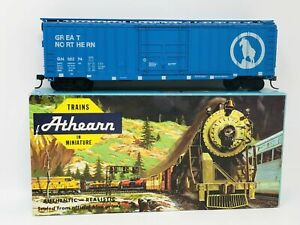 Athearn-1968-Great-Northern-50-ft-Outside-Braced-Box-Car-No-1339-HO-Scale