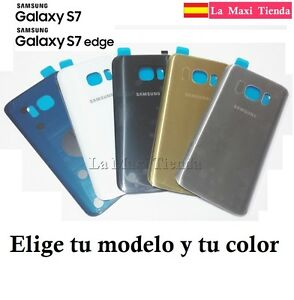 Tapa-Trasera-Bateria-para-Samsung-Galaxy-S7-o-S7-Edge-Adhesivo-G930F-G935F