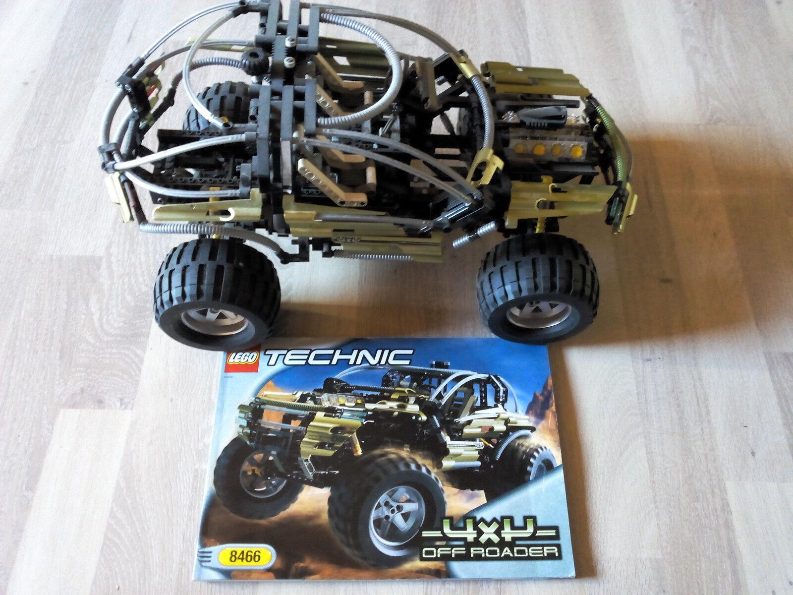 Lego Technic Technik 8466 Off Roader 4x4 / TOP ZUSTAND - Rarität von 2001