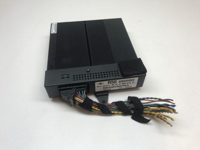 02 08 Mini Cooper S Oem Harman Kardon Amp Amplifier 6512695901001