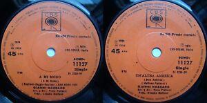 GIANNI NAZZARO CLAUDIO BAGLIONI A MODO MIO 1974 1/1 STAMPERS SANREMO CHILEAN PRS