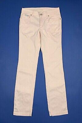 Benetton Jeans Donna Usato Rosa Slim Gamba Dritta Mom W28 Tg 42 Boyfriend T5525 Elevato Standard Di Qualità E Igiene