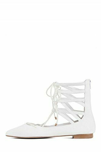 Jeffrey Campbell Atrium lace-up pointy-toe flat