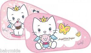 Sonnenschutz Mini Van Angel Cat Sugar 1Set 2 Stück Autoscheibe KFZ Hitze Sonne