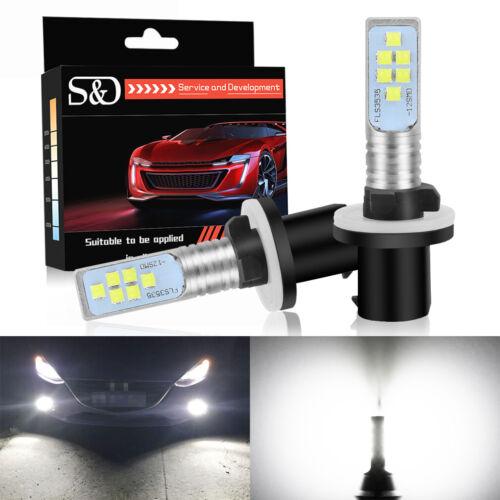 2X 880 12SMD 3535 LED H27 6000K White Bulb Fog Daytime Running Light 892 893 899