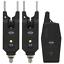 Funk-Bissanzeiger-elektronisch-2-1-Set-Profi-Bitealarm-Karpfen-Carp-LED-Karpfen Indexbild 1