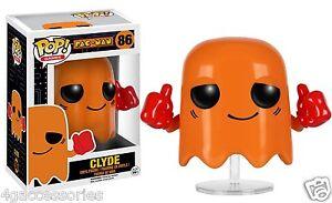 Pac-Man-GIOCHI-Clyde-FUNKO-POP-VINILE-Statuetta-N-86