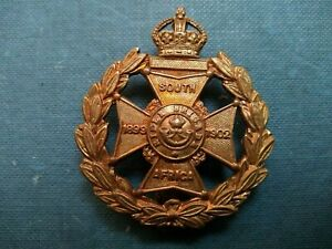 187-RIFLE-BRIGADE-ALL-BRASS-CAP-BADGE-Maker-GAUNT-LONDON
