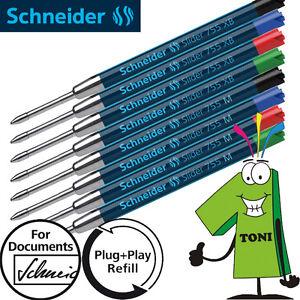 Schneider-Kugelschreiber-Mine-Slider-755-Viscoglide-G2-Kulimine-M-XB