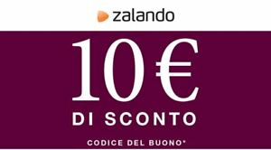 AAA CODICE SCONTO ZALANDO del 10/% voucher buono sconto coupon