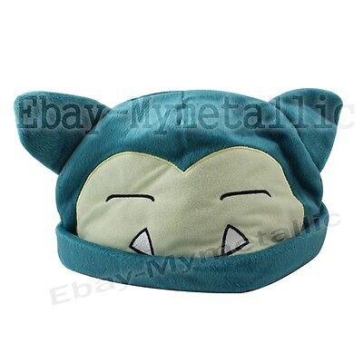 Pokemon Snorlax #143 Warm Soft Hat Cap Cosplay
