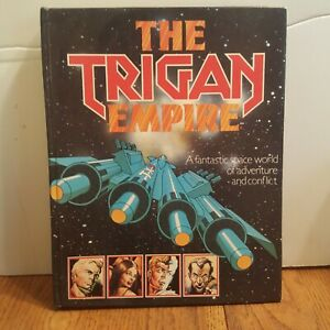 THE-TRIGAN-EMPIRE-1978-CHARTWELL-BOOKS-GRAPHIC-NOVEL-HARDCOVER-RARE