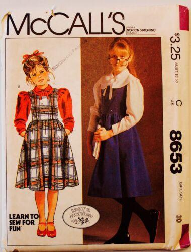 Vtg CHILD DRESS TOP PANTS Sew Pattern   6-14 UC   Boys Girls U PICK