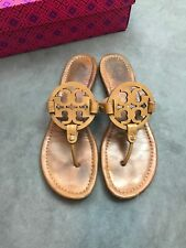 da9224d38 item 5 TORY BURCH Miller Royal Tan Sand Beige Saffiano Patent Leather  Sandal Sz 10.5 C7 -TORY BURCH Miller Royal Tan Sand Beige Saffiano Patent  Leather ...