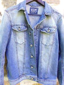Veste blouson en jean femme