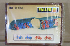 FALLER B-584 HO SCALE STATION TOWN BIKE BYCYCLE RACK MODEL RAILWAY LAYOUT KIT ni