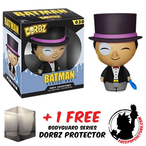 FUNKO DORBZ DC COMICS BATMAN THE PENGUIN S1 VINYL FIGURE + FREE DORBZ PROTECTOR