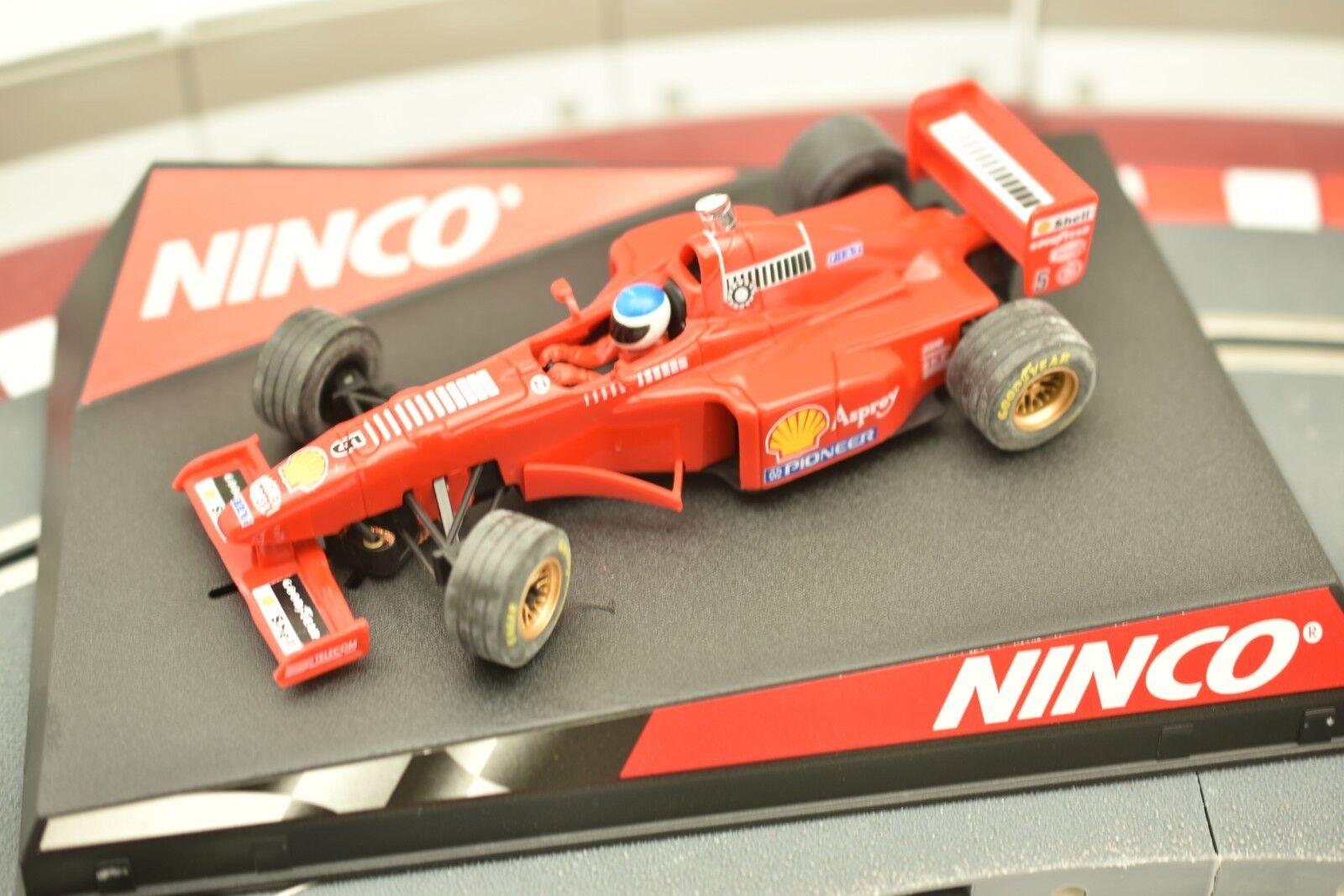 50162 NINCO 1 32 SLOT CAR F-1 F310 B N 5 RED FERRARI
