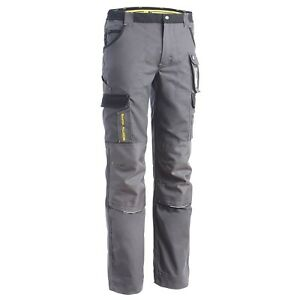 Pantalon de travail avec emplacements genouilleres Cary NW gris du 36 au 56