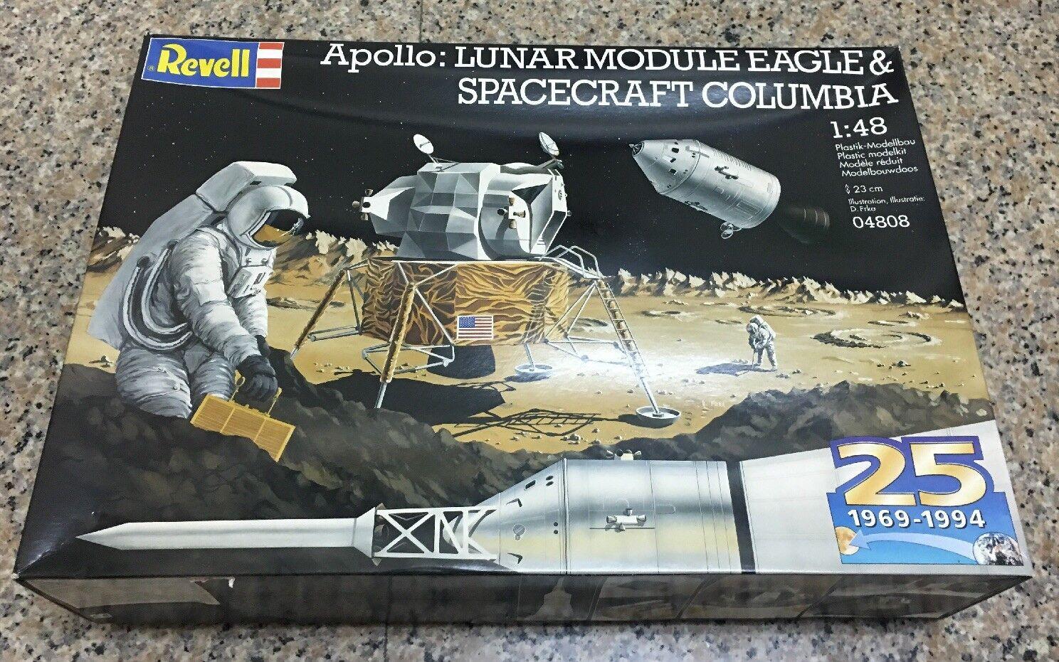 Revell 1 48 Apollo Lunar Spacecraft