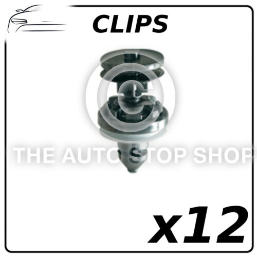 11264 Pack of 12 Clips Doors Pannels 8,2 MM Ford Focus//C-Max Part Number