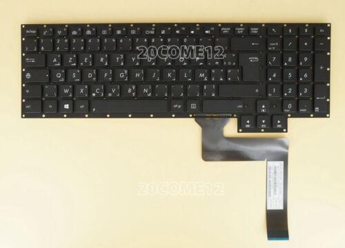 for ASUS G750J G750JH G750JM G750JS KEYBOARD Arabic /& French Clavier backlit