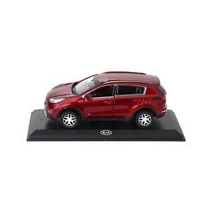 KIA-Sportage-QL-Modellauto-Sammlermodell-1-38-Infrarot-Metallic