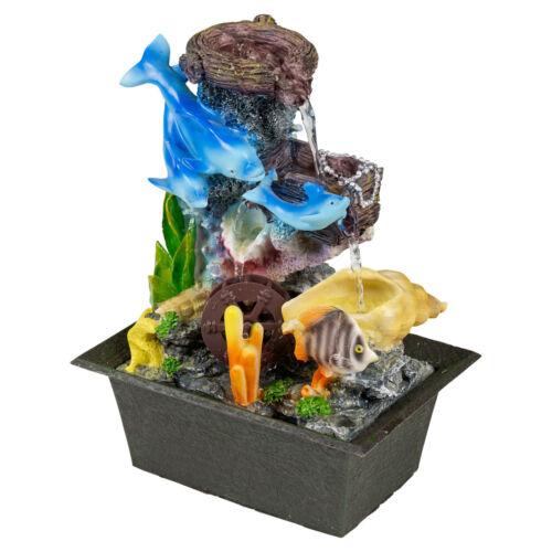Intérieure cascade plateau de table bureau calmante Feng Shui tranquillité effet Mains Cadeau