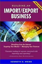Building an Import/Export Business Weiss, Kenneth D. Paperback