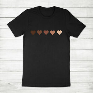 Black-Lives-Matter-Hearts-Anti-Racism-Equality-Equal-Rights-Love-Unisex-T-shirt
