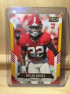 2021 Panini Score Dylan Moses Gold RC #352 Jaguars (JAG005)