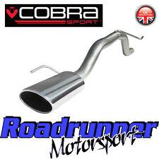 Vc32 Cobra deporte Corsa D 1.2 Y 1.4 Venom Trasero Silenciador Bypass Tubo De Escape Alto