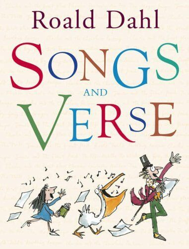 1 of 1 - Songs And Verse By Roald Dahl. 9780224070386