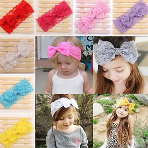 7pcs-Kids-Baby-Girl-Toddler-Lace-Bowknot-Headband-Hair-Band-Headwear-Accessories