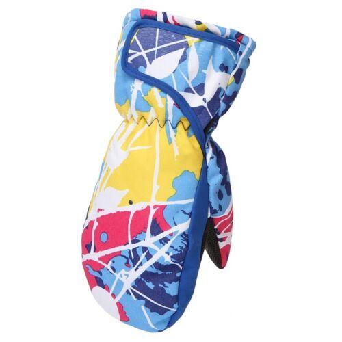 Kids Ski Gloves Boys Girls Winter Mittens Full Finger Mitts Thicken Hand Warmers