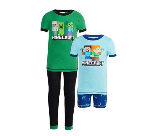 NWT Komar Kids Boys 4pc pajamas sleepwear set toddlers