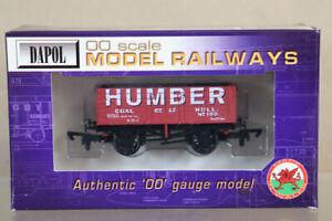 DAPOL-B557-HUMBER-COAL-CO-LTD-HULL-7-PLANK-WAGON-100-MINT-BOXED-ny
